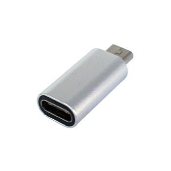 تبدیل فلزی USB Type-C به microUSB