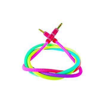 کابل رنگین کمانی AUX