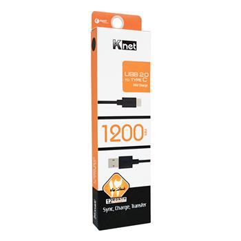 کابل USB به USB Type C کی نت مدل 1200 میلی متر