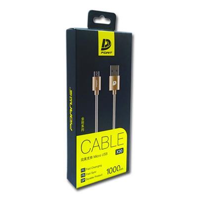 کابل USB  به MicroUSB  پیدان مدل X30