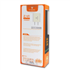 dekkin ac adapter with Dual USB Slot 164 شارژر package back